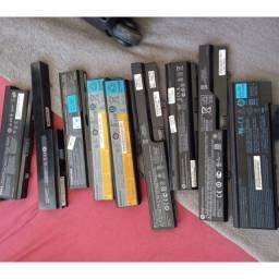 Lote baterias notebook usadas