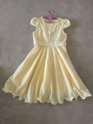 Lindo vestido infantil 5-6 anos