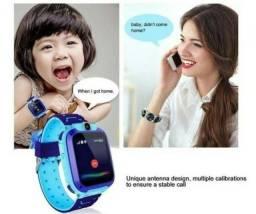 Relógio infantil inteligente