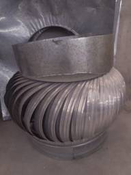 Exaustor eólico em alumínio