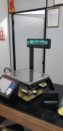 Balanças com impressora código de barras usada