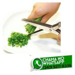 Tesoura para cortar Cheiro Verde