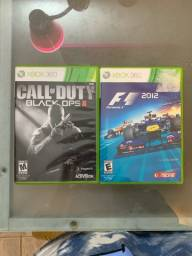 Call of duty e F1 2012 (360 ou one)