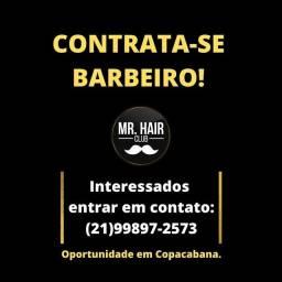 Contrata-se barbeiro!