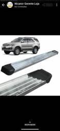 Estribo Plataforma Alumínio Polido