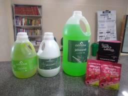 Shampoos e Tratamento de choque Vinagre capilar