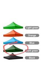 Pano de tenda gazebo 3x3