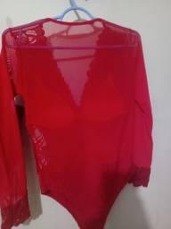 Body vermelho