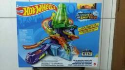 Pista Estação Científica Hot Wheels Color Change - Mattel