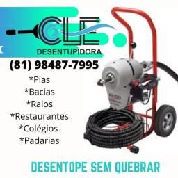 """Desentupidora CLE""""!"""