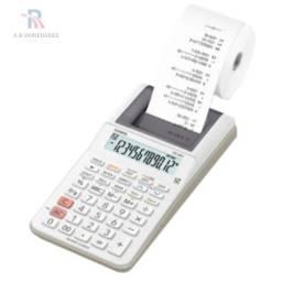 Calculadora Casio Hr8rc De Mesa À Pilha Com Bobina Impressão
