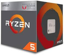 Processado Amd Ryzen 5 2400g com vídeo integrado