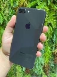 iPhone 8 Plus Space Gray e Gold 64GB e 256GB - Seminovo, Nota Fiscal + Garantia