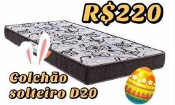 COLCHÃO SOLTEIRO D20