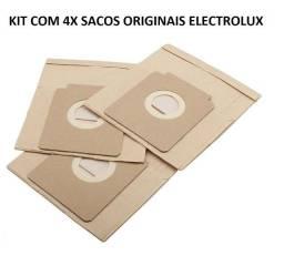 Kit 4x Sacos Originais Aspirador De Pó Electrolux Modelos Neo10 Listo Pet Lover