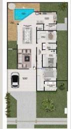 Casa com 3 dormitórios à venda, 151 m² por R$ 599.000 - Terras Alpha Residencial 2 - Senad