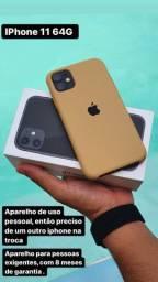 IPhone 11 64G - somente 3 meses de uso !!!