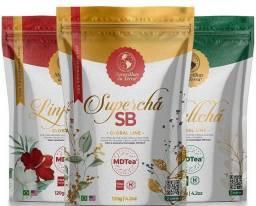 Super Chá SB - Maravilhas da Terra - Kit protocolo de emagrecimento