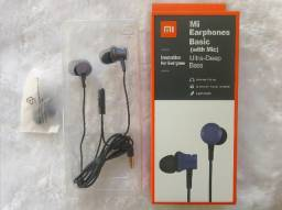 Fone De Ouvido Xiaomi Mi Earphones Basic C/ Microfone