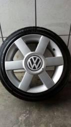 Rodas Audi aro 16 com pneus