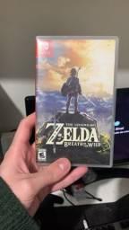 Jogo Zelda breath of the wild para nintendo switch