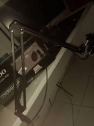 Microfone condensador bm 800 completo