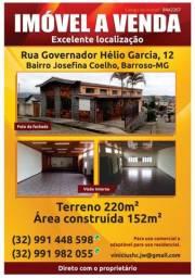 Imóvel amplo em Barroso, MG