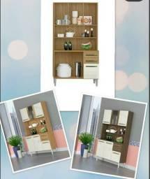 Armário pra cozinha com vidro