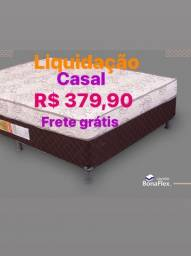Cama Box Casal Acoplado  R$379,90