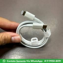 Cabo USB Iphone 1M - Compatível Com Vários Modelos - 27% Off - [Última Unidade]