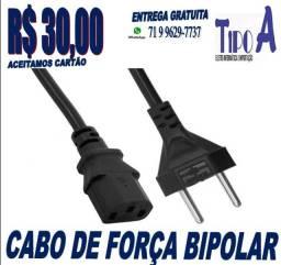 Cabo De Força Bipolar Padrão Brasileiro
