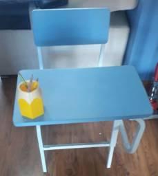 cadeira com mesa acoplada escolar