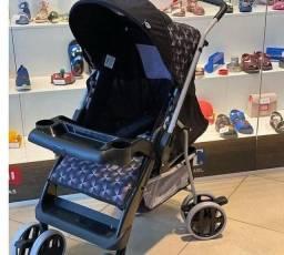Mega promoção de carrinho de bebê azul