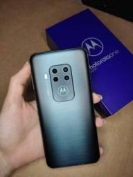 Vendo Celular Motorola One Zoom Titanium 128gb