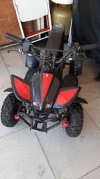 Mini quadriciculo 50cc ate 60kg semi-novo