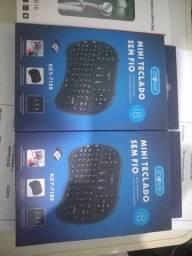 Mini teclado sem fio R$45