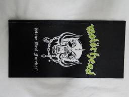 Motorhead Stone Deaf Forever Livreto Encarte Do Box