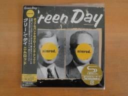 Green Day Nimrod Mini Lp Cd Japonês + Obi