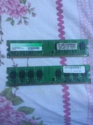 Memória DDR2 2gb por pente