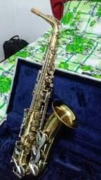 Sax Alto Amaty Super Crislice AAS22 revisado boquilha