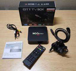 Tv box 4k Mxq pro 2Gb de ram 16Gb de memória interna