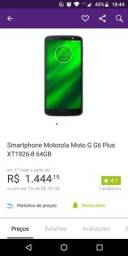 Moto G6 plus completo troco por iPhone 6s