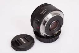 Objetiva Canon 50mm STM