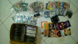 DVDs e CDs