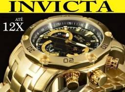 8f5872e79eb Relógio Invicta 22767 Ouro 18K 100% Original em 12X Melhor preço e  atendimento