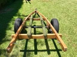 Carreta de encalhe para Jet Ski