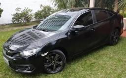 Honda Civic Sport Preto 23.000 km único dono - 2017