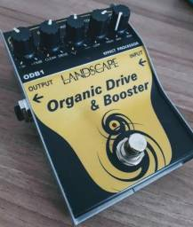 Pedal overdrive e booster organic drive