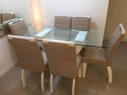 Mesa 6 Cadeiras Novissima