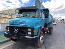 Mb 1313 Com Caçamba Caminhão Fino